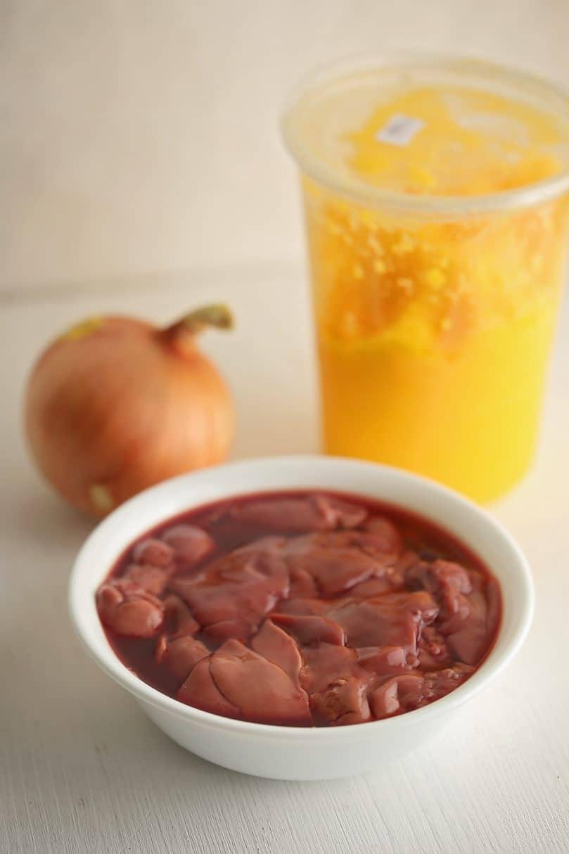 ingredients to make liver pate