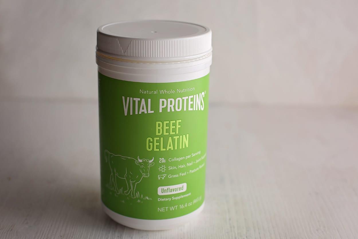 package of beef gelatin
