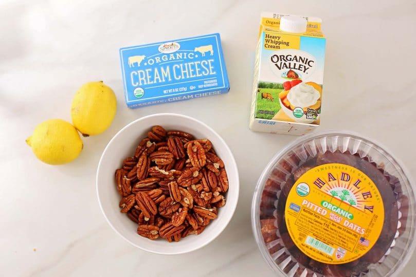ingredients for lemon cream pie