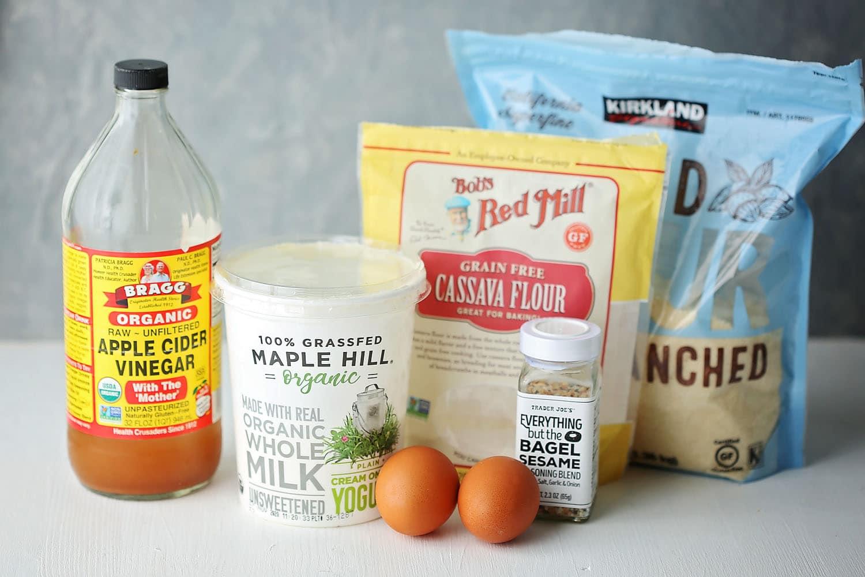 ingredients to make buns