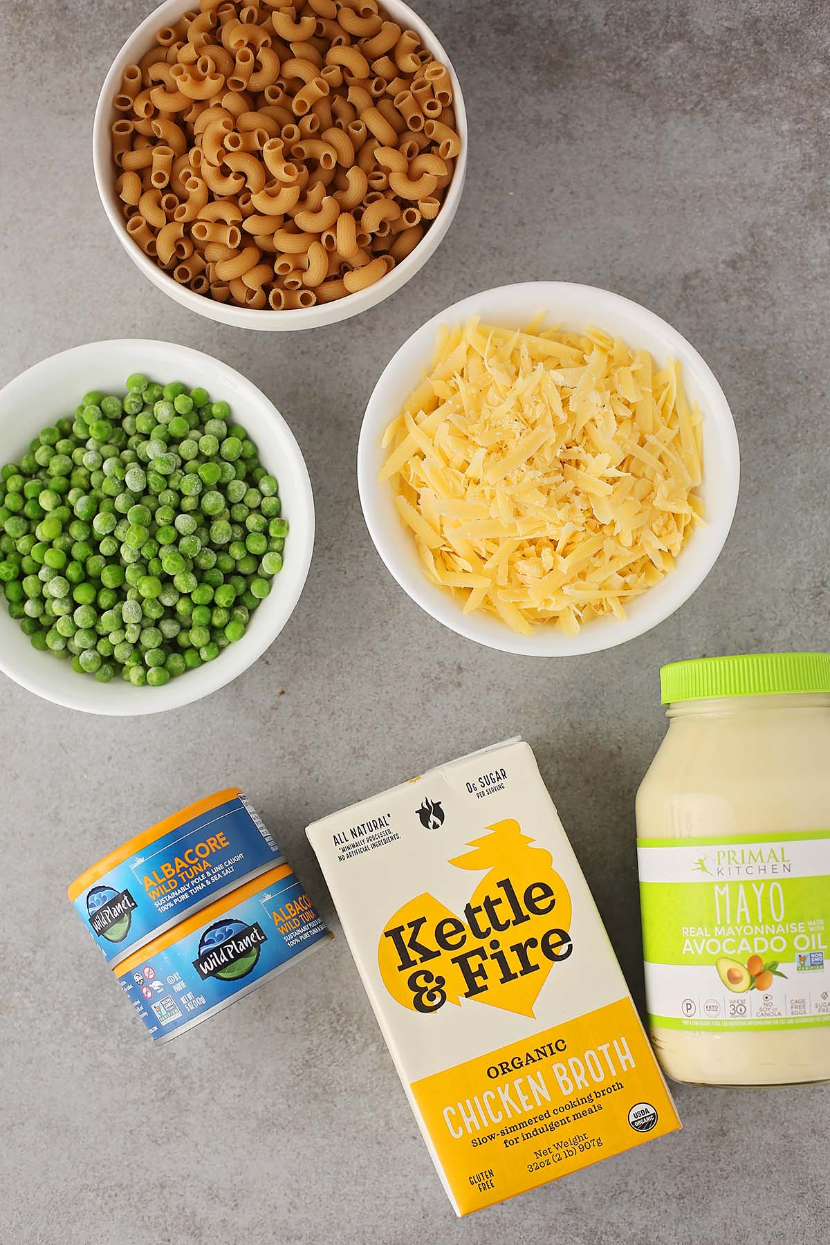 ingredients to make pasta in the instant pot